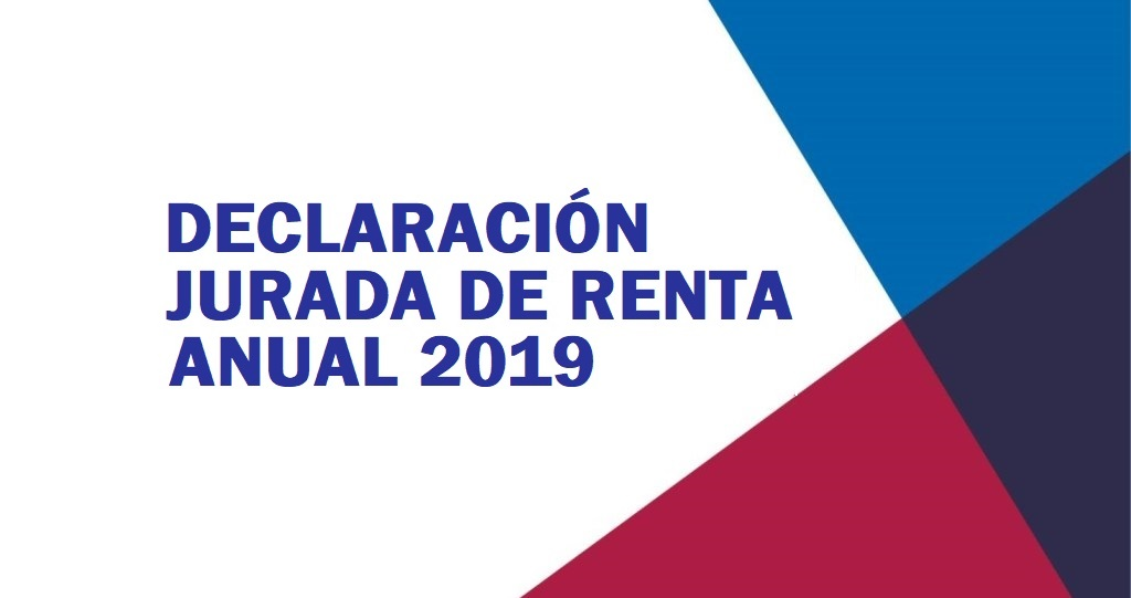 Normas para la Declaración Jurada de Renta Anual – Ejercicio 2019