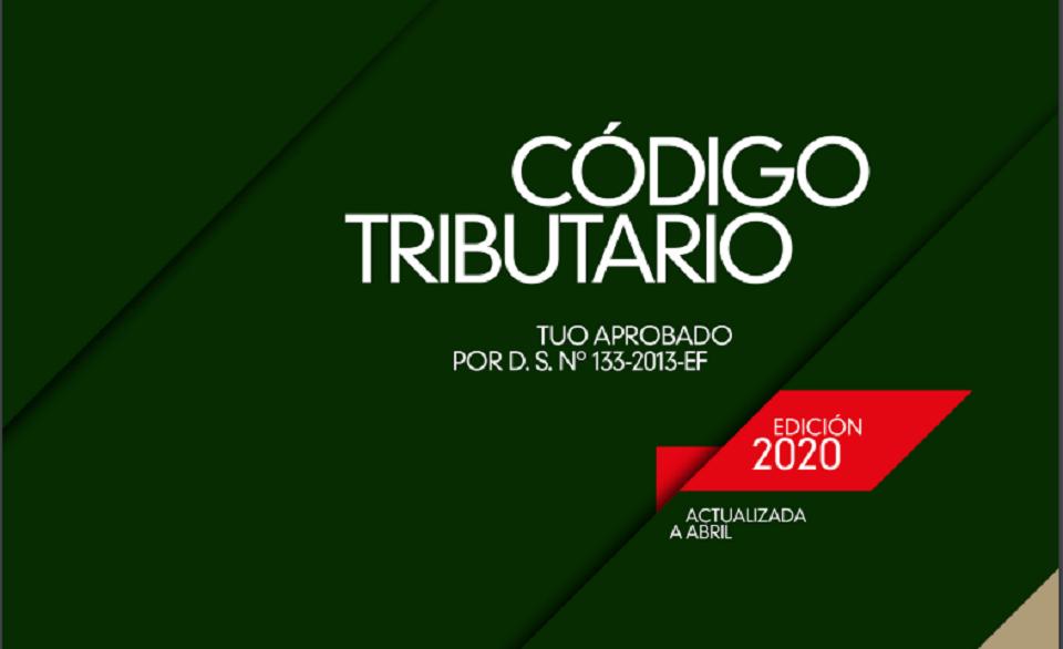 Descarga gratis Código Tributario 2020