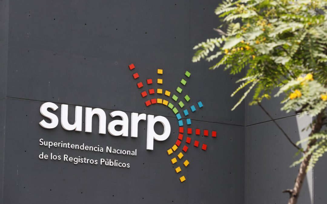 Sunarp: empresas deberán constituirse exclusivamente vía plataforma virtual