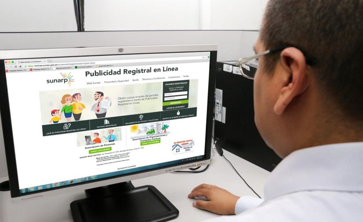 Desde hoy se podrá hacer trámites virtuales de registro de predios