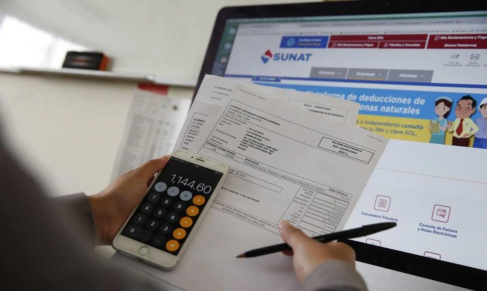 Sunat: Facturas y recibos por honorarios electrónicos incluirán nuevos datos