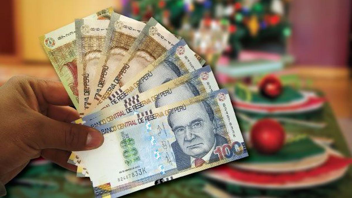 Gratificación por Navidad será un sueldo más 9% adicional