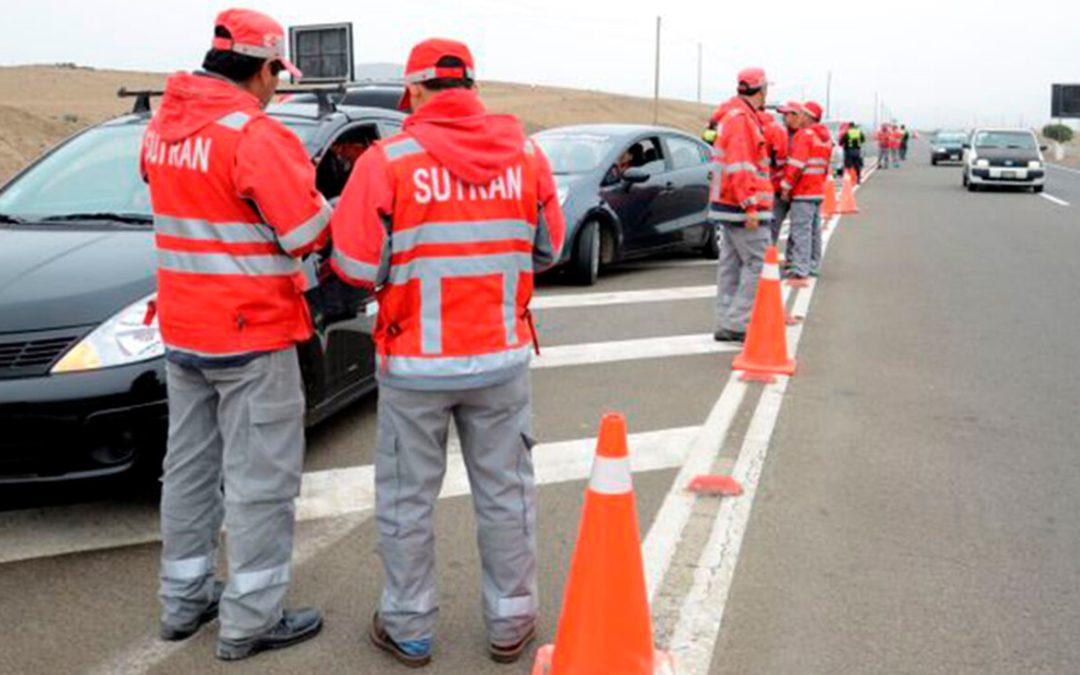 Conoce la reducción de multas de tránsito impuestas por Sutrán