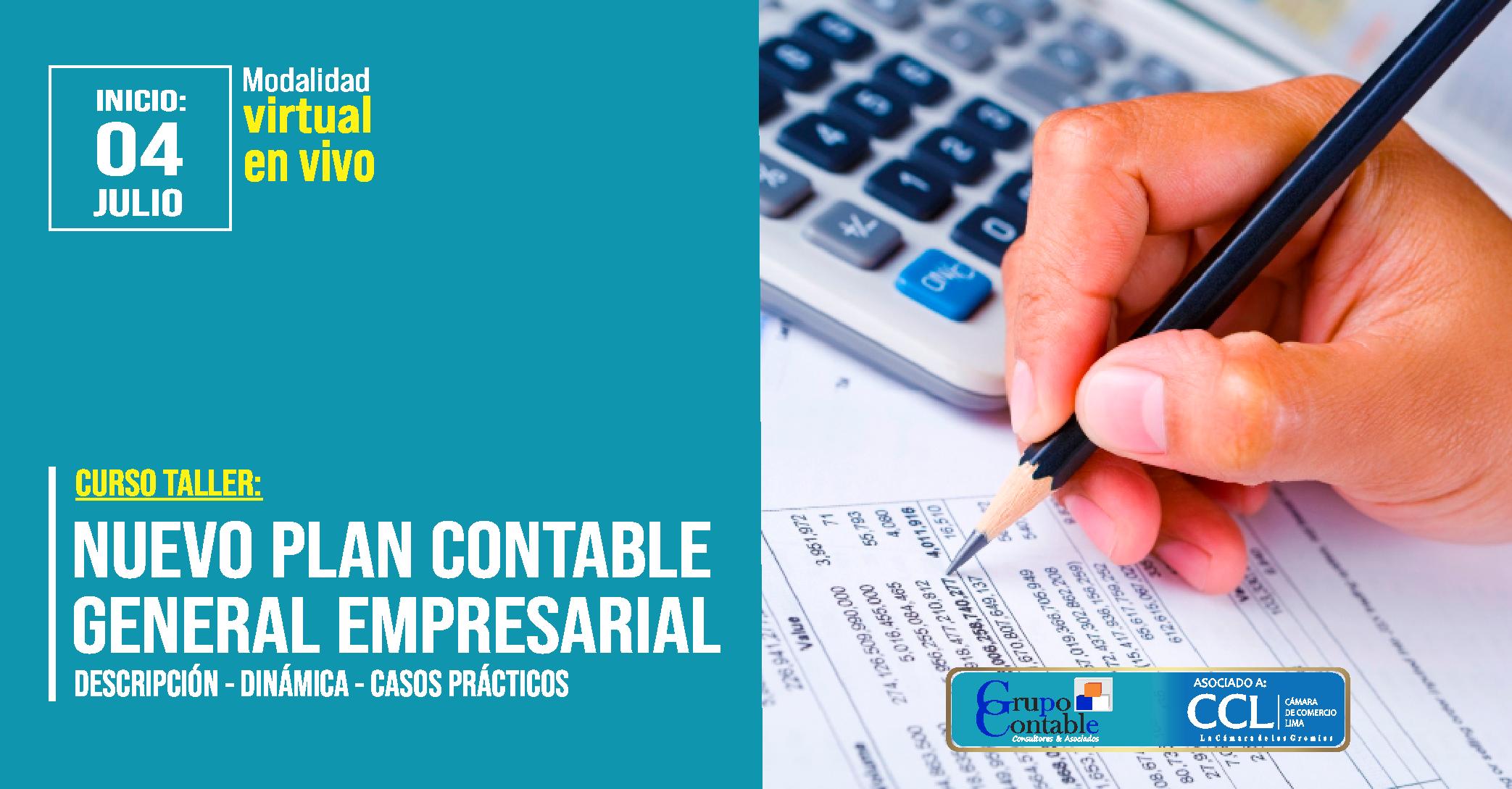 Taller Práctico: Dinámica del Nuevo Plan Contable General Empresarial